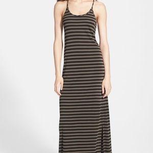 STEM  Stretch  Side Slit Casual Maxi Dress Sz XL